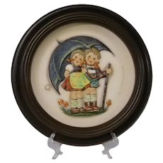 Hummel 1975 First Edition Anniversary Plate, Stormy Weather