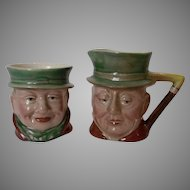 Final Markdown - Beswick of England Dickens Characters Creamer and Sugar Set