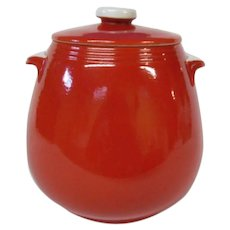 Hall Chinese Red Bean Pot, Pert Kitchenware