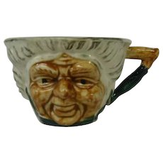 English Earthenware Character Face Cup Mug ~ REDUCED!