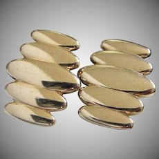 Vintage Swank Gold Tone Cufflinks ~ REDUCED!