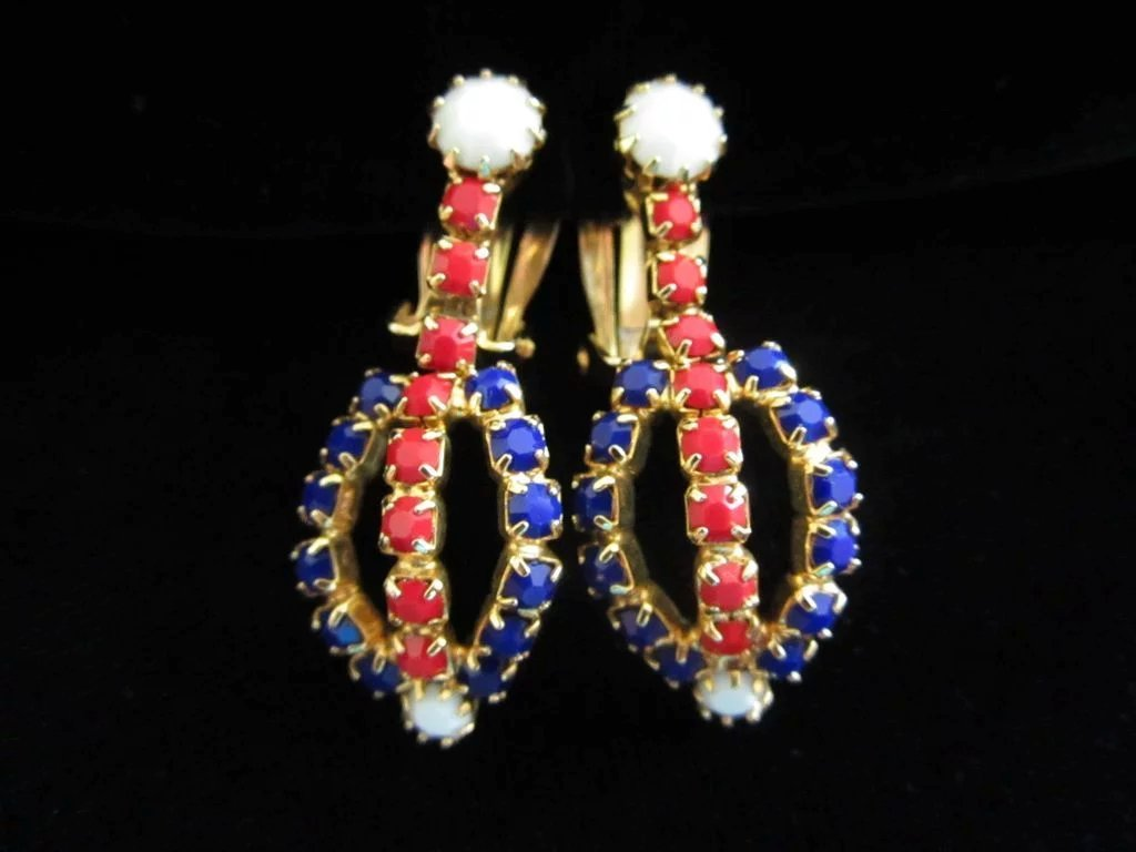 Vintage Sword with Red, White Blue Patriotic Dangles and ...