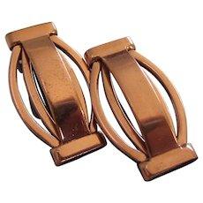 Renoir Vintage Copper Earrings