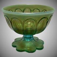 Rare Northwood Aqua Opalescent Sugar Bowl ~ REDUCED ~ 1/2 OFF!