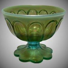 Rare Northwood Aqua Opalescent Sugar Bowl ~ FINAL REDUCTION!