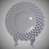 Vintage Fenton White Milk Glass Footed Bowl ~ REDUCED!