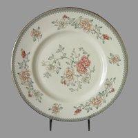 Final Markdown - Minton Jasmine Dinner Plates Set of 2, Royal Doulton Floral Pattern English