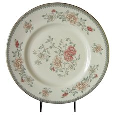 Final Markdown - Minton Jasmine Dinner Plates Set of 2, Royal Doulton Floral Pattern English