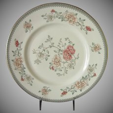 Minton Jasmine Dinner Plates Set of 2, Royal Doulton Floral Pattern English