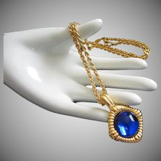 Kenneth J Lane KJL Interchangeable Cabochon Necklace
