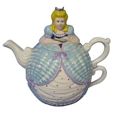 Charming Department 56 Tea For One Cinderella Teapot