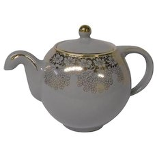 Vintage Hall Globe Teapot in Dove Gray ~ REDUCED!