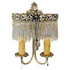 1920's Lighted Wall Sconce