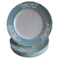 Vintage Spode, England Bone China Plates, Set of 6