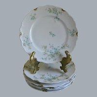 C. Ahrenfeldt Limoges Plates, Set of 6