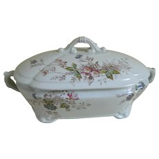J & G Meakin Hanley, England Ironstone China Bowl With Lid