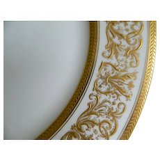 "C. Ahrenfeldt Limoges Set of 12 - 10"" Plates, 1894 until 1930"