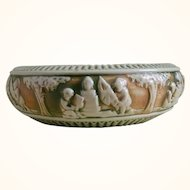 Roseville Donatello Console Bowl, 1915 - 1920