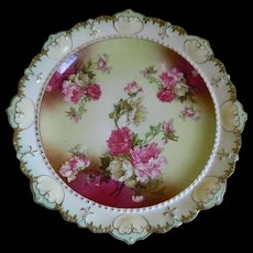 Antique M Z Austria China Plate 1884  Until 1909 - Red Tag Sale Item