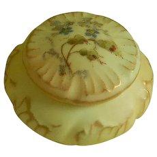 Antique German Hand Painted Dresser or vanity  Jar