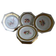 Pareek Johnson Bros England  Set of 12 Plates, 1913 until 1920's