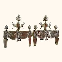 1930's French Chenets or Andirons