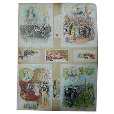 Victorian Scrapbook 1888 to 1896