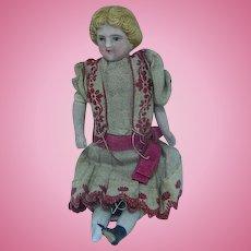 German Dollhouse Little Girl