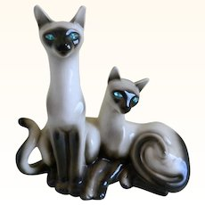 1958 Siamese Cats TV Lamp Made by Lane and Co., Van Nuys, CA