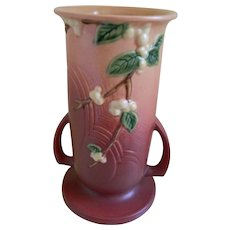 Roseville Snowberry Vase