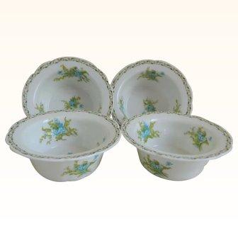 C. Ahrenfeldt Limoges Finger Bowls, Set of 4