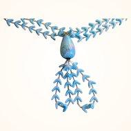 Original By Robert Vintage Art Glass Beaded Necklace