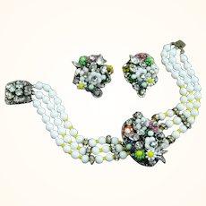 Bracelet and Earrings by Robert