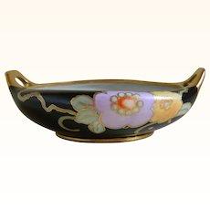 Antique M Z Austria Hand Painted Bowl, Signed J L Sutmar