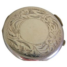 Vintage Sterling Silver Birk Powder Compact
