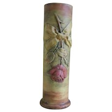 Early Weller Flemish Rosebud Vase