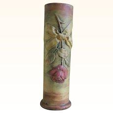 Early Weller Flemish Rosebud Vase