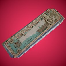 1893 Victorian Era, Exposition Set o Wooden Dominoes