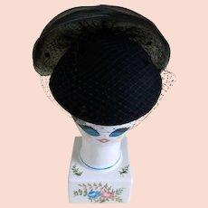 eba124dd898d20 Michael Howard ~ Purple Wool & Feather Hat : Kitsch & Couture | Ruby ...