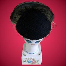 Vintage Michael Howard 100% Wool Miss Bierner Hat, USA