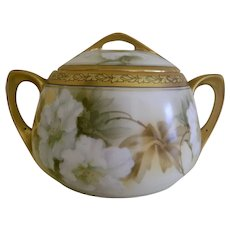 Early 1900's RS Germany Biscuit Jar with Lid