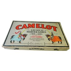Camelot Board Game 1930's