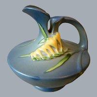 Roseville Freesia Ewer Art Pottery