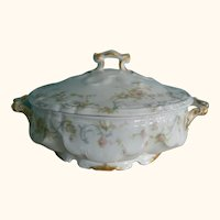 1890 Antique Haviland Limoges Serving Bowl With Lid