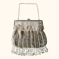 Glass Beaded Purse 1920's-1930's