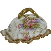 Rare Victorian Covered Cheese Dish, England