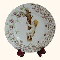 Rare, Have You Ever Heard Of The Sugarplum Tree Plate, The Foley China, England