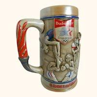 Budweiser Commemorative 1984 Summer Olympics Beer Stein