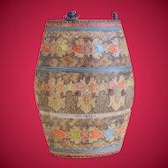 Macedonian Treen (Wooden) Canteen Flask World War I Era