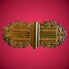 Victorian Brooch with Poem